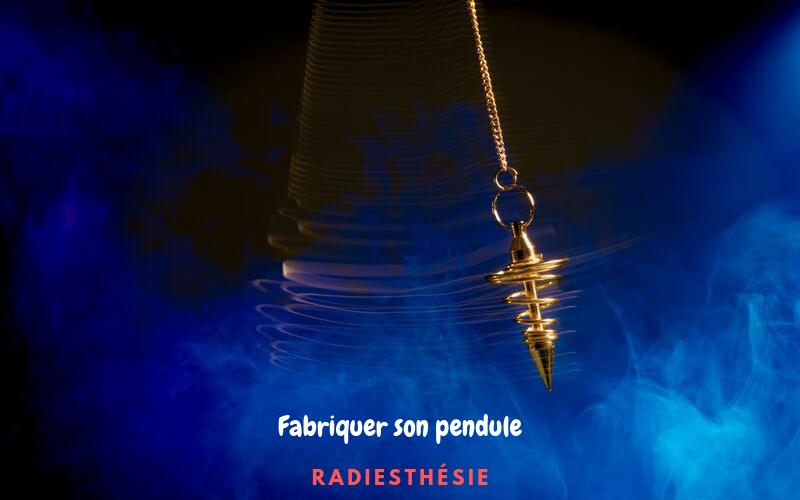 Fabriquer un pendule de radiesthésie