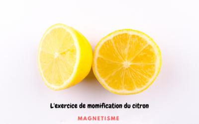 Comment magnétiser un citron?