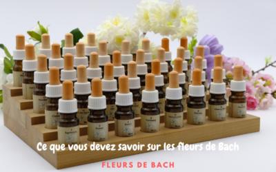 Ce que vous devez savoir sur les élixirs floraux de Bach