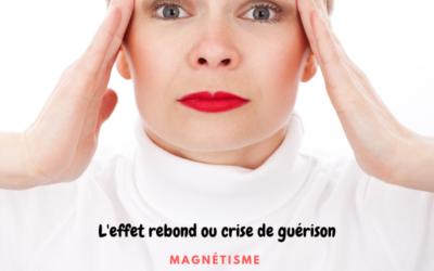 L'effet rebond ou «crise de guérison» après une séance énergétique