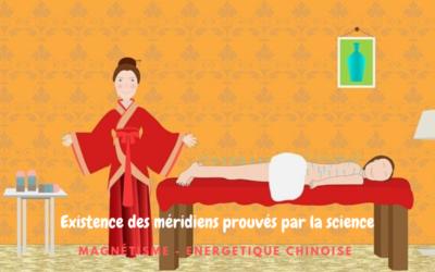 Les méridiens et les points d'acupuncture: existence prouvée par la science