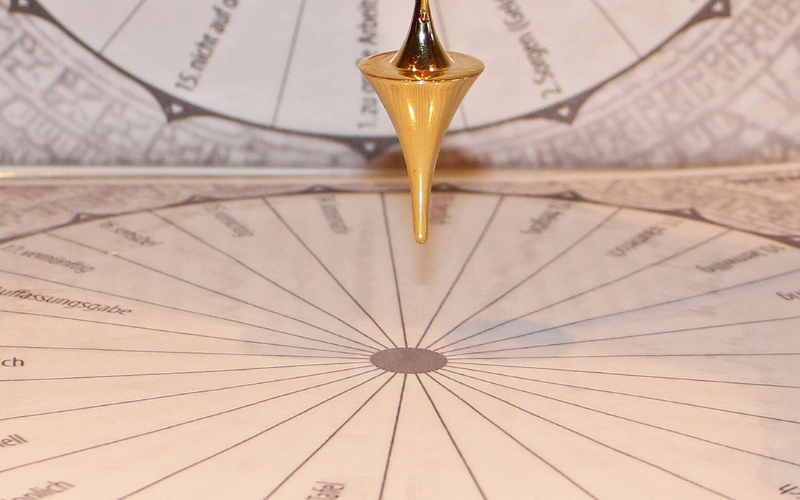 pendule radiesthesie divinatoire