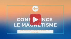 voir notre conférence sur la magnétisme