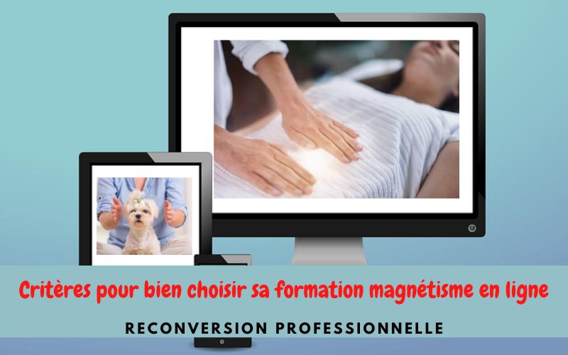 Devenir magnétiseur: comment bien choisir une formation magnétisme en ligne